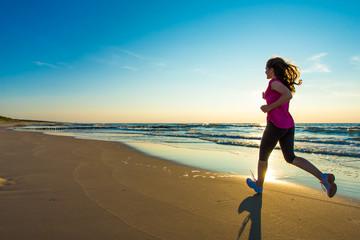 playa, correr, aumentar el ánimo