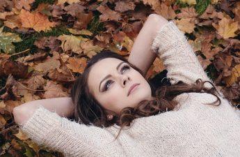 otoño, soltar, desprenderte